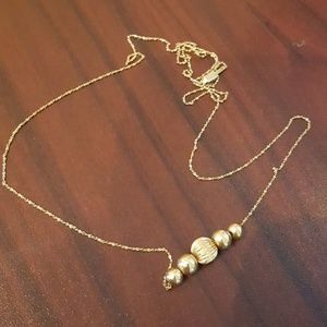 Jewelry - 14k add a bead necklace